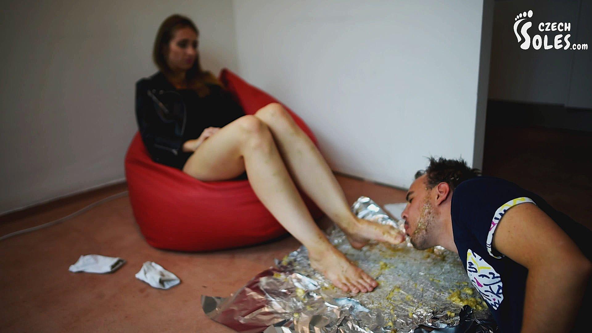 Foot worship food play lit erotica