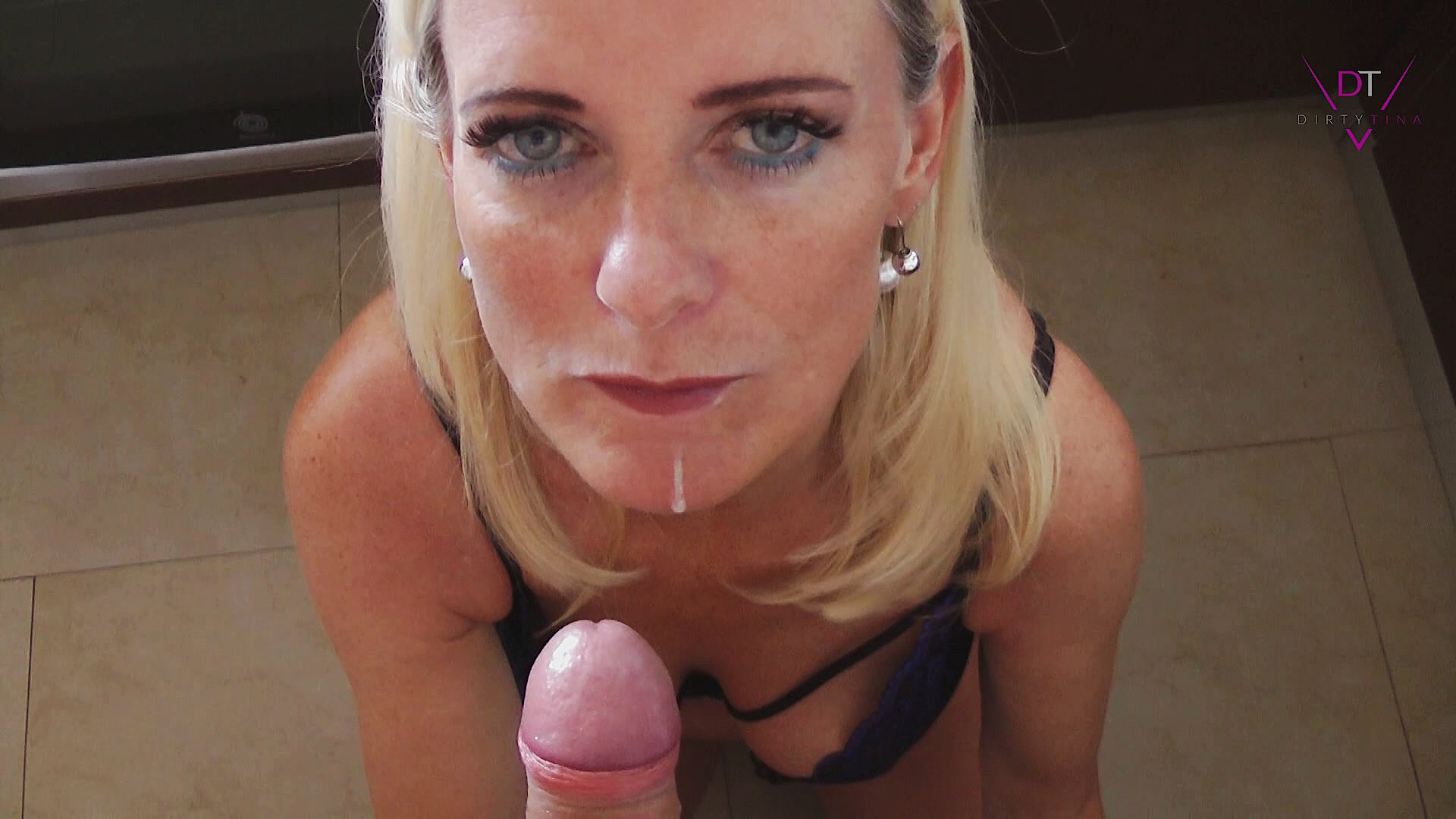 Dirty Tina Blowjob