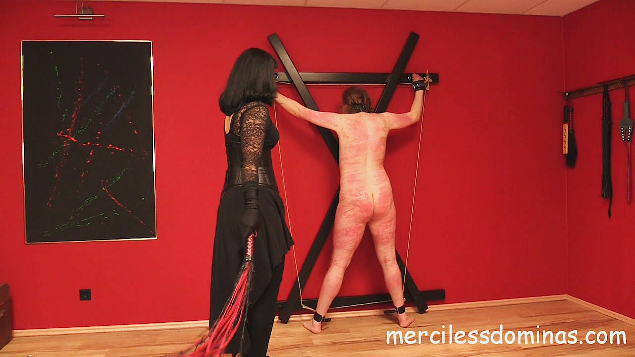 New Slave – The Front - Merciless German Mistress and Painful Caning