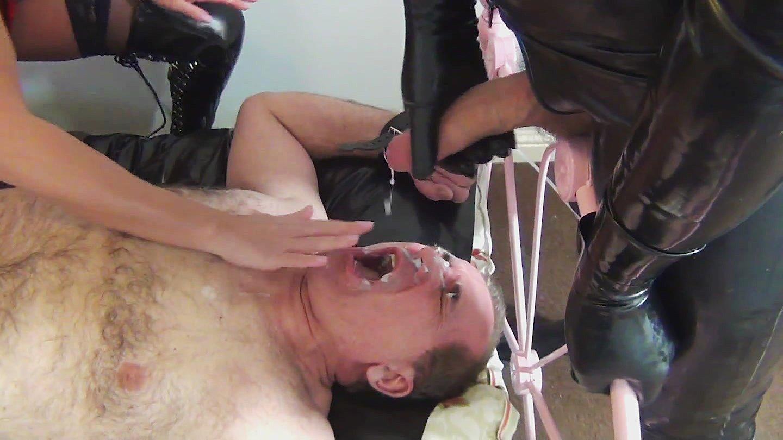 Cum Eating Slave