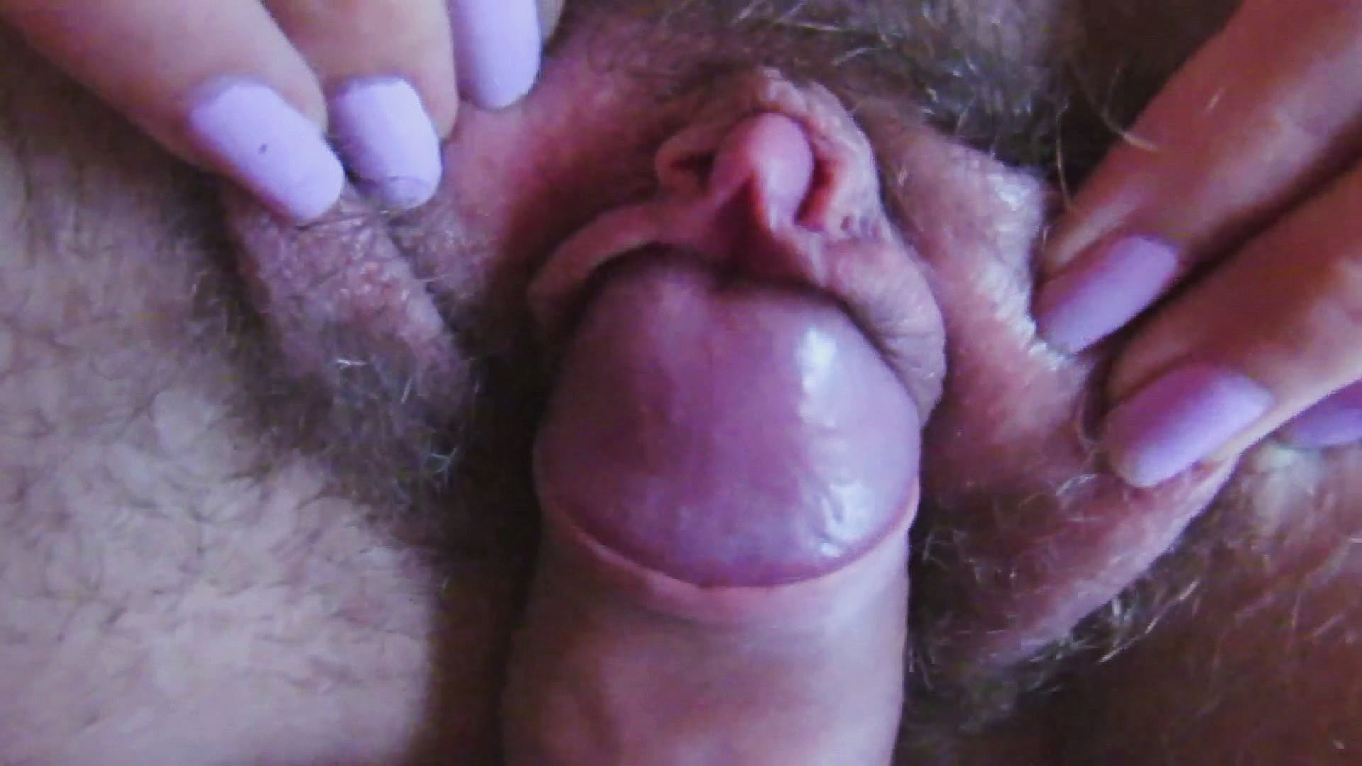 cockhead sperm Swelling labia