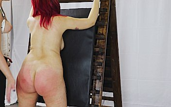 FORBONDAGE - European Brunette Pina Deluxe Gets Tied Up And Dominated