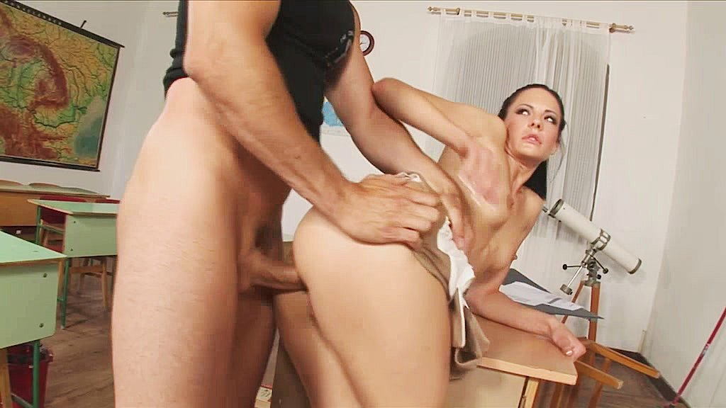A sexy teacher gets fucked clip