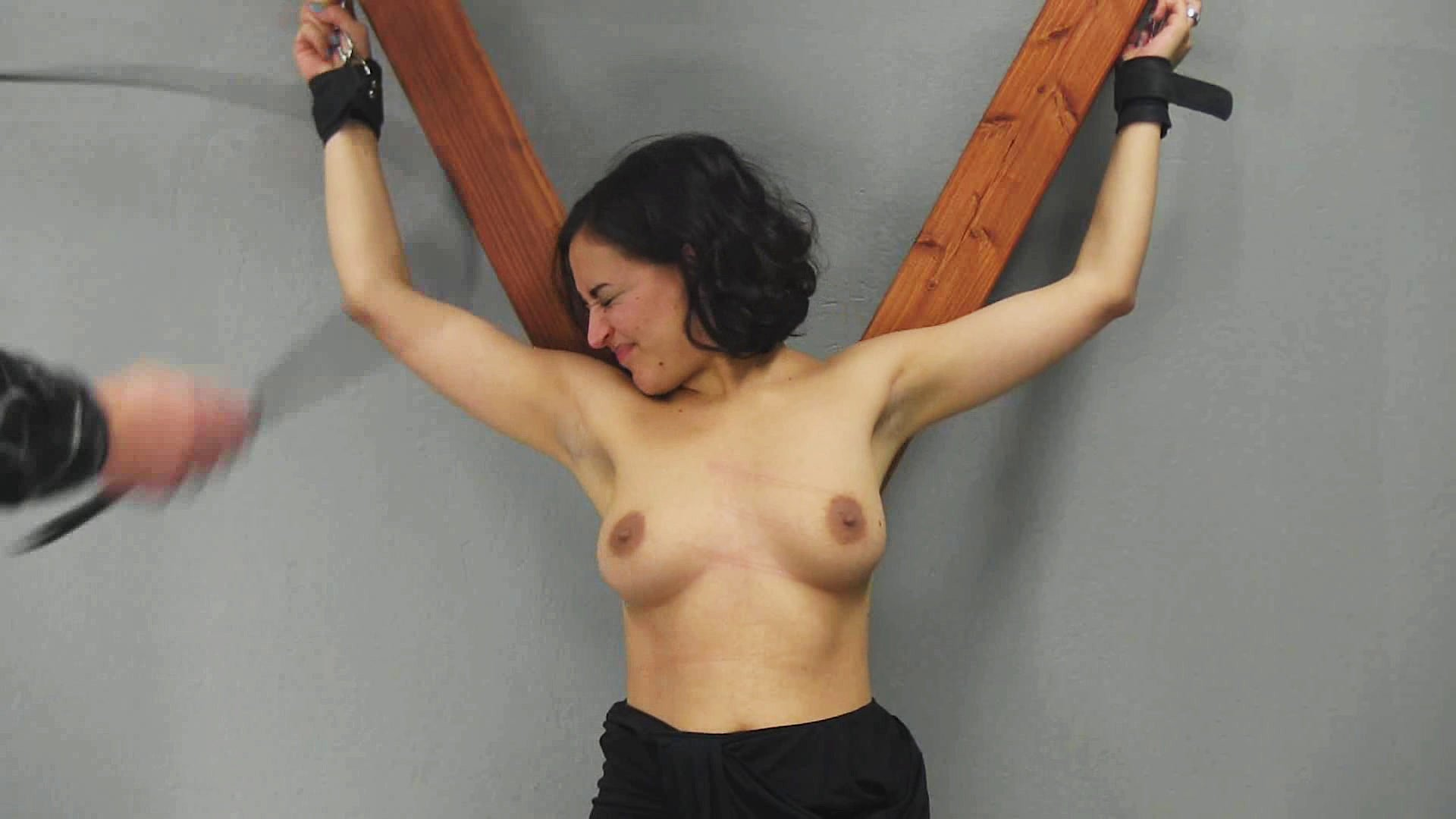Bdsm breast floggings