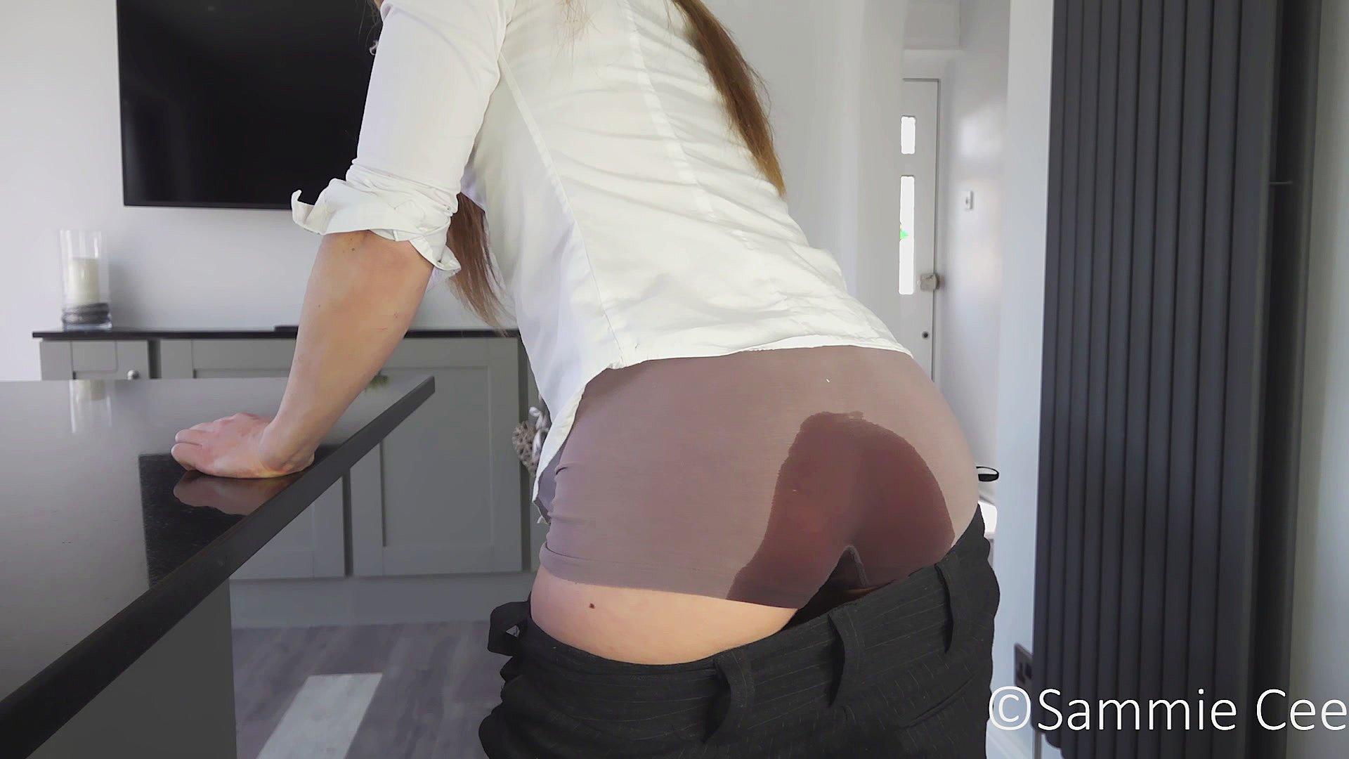 Just pissing panties