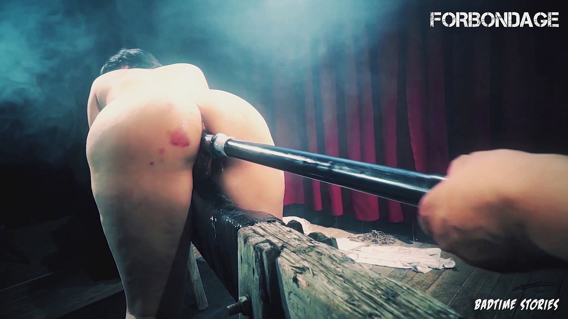 FORBONDAGE - Lullu Gun Submit To Her Master & Gets BDSM Pussy Punished